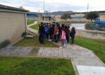 Visita de l'escola Emili Juncadella a la EDAR de Rubí